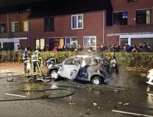 Autosloperij Dordrecht ook voor geexplodeerde sloopauto inname